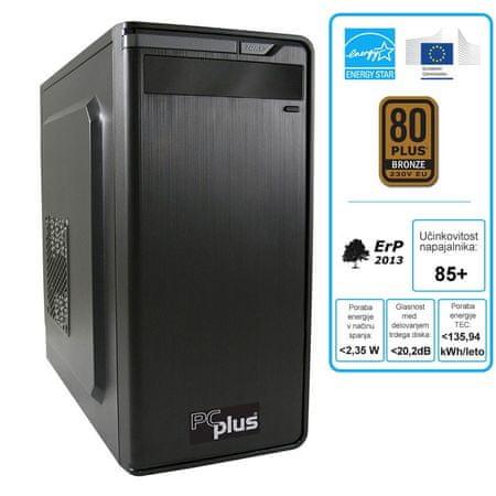 PCplus namizni računalnik Family G4560/4GB/1TB/FreeDos