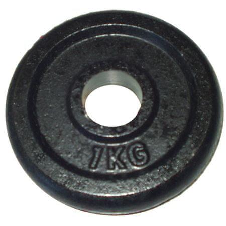 Acra Závaží 1kg černé