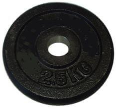 Acra Závažie 2,5kg čierne