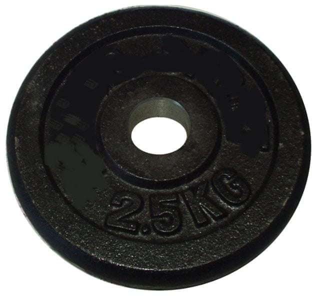 Acra Závaží 2,5kg černé