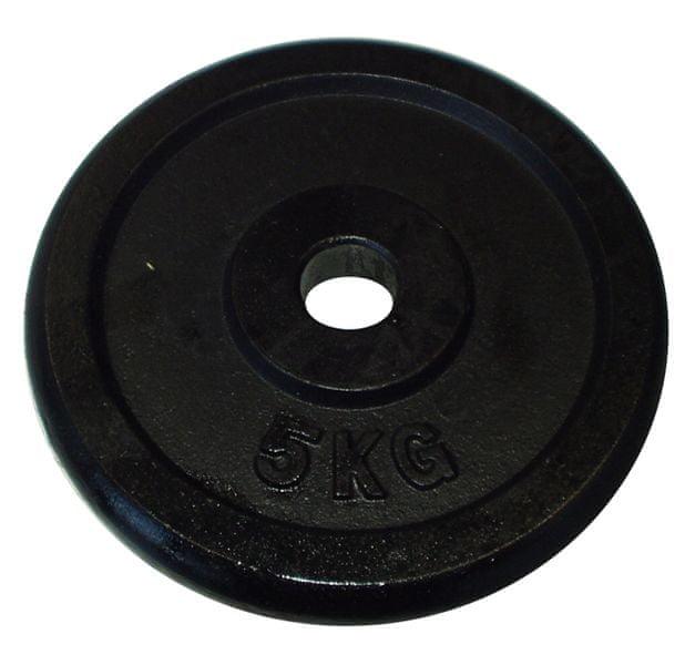 Acra Závaží 5kg černé