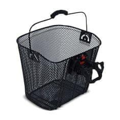 Bellelli košara za kolo, črna, 34 x 25 cm