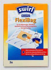 Swirl mikropor vrečke za sesalec FlexiBag, 3 kos