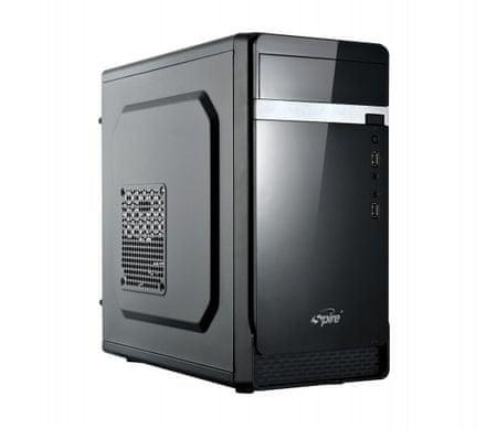 Spire ohišje z napajalnikom 1412B 420W, mATX, USB3