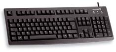Cherry tipkovnica Cherry G83-6105, UK, USB, črna