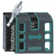 Mannesmann Werkzeug set 18 vijačnih nastavkov z magnetno škatlico za pas