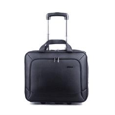 """Kingsons poslovna torba s kolesi, 39,6 cm (15,6""""), črna"""