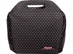 """Kingsons torba za prenosnike, 36,8 cm (14,5""""), črna z rdečimi pikami"""