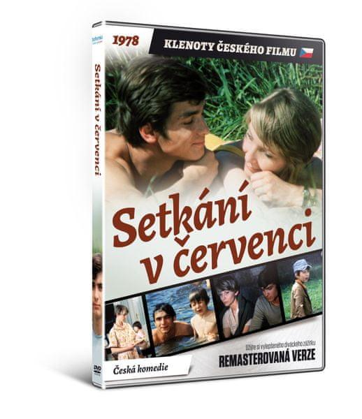 Setkání v červenci - edice KLENOTY ČESKÉHO FILMU (remasterovaná verze) - DVD