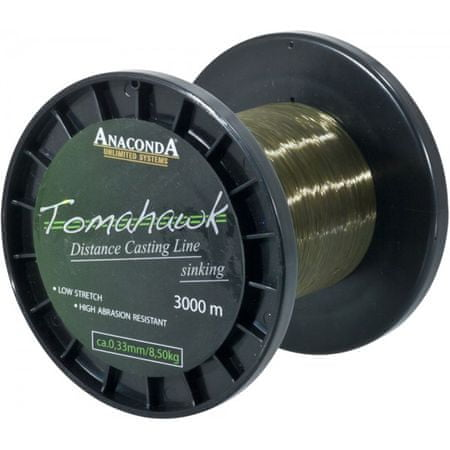 Anaconda Vlasec Tomahawk Line 1200 m 0,33 mm, 8,5 kg