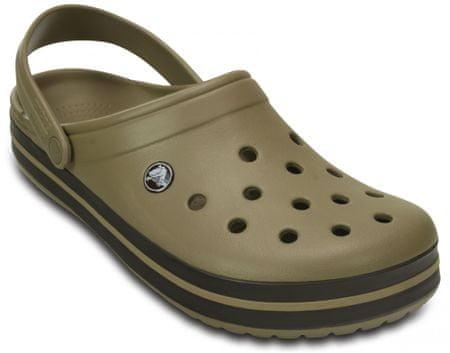 Crocs čevlji Crocband, rjavi, 45.5