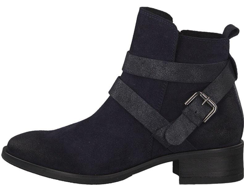 Tamaris dámská kotníčková obuv 37 tmavě modrá