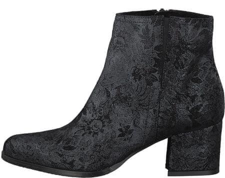 Tamaris buty za kostkę damskie Rebekka 37 czarny