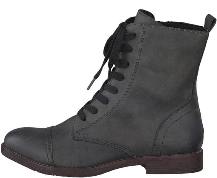 Tamaris dámská kotníčková obuv 39 šedá