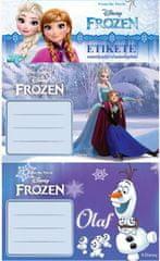 etiketa za zvezek Frozen 10/1