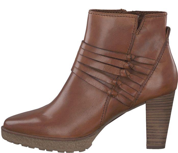 Tamaris dámská kotníčková obuv 37 hnědá