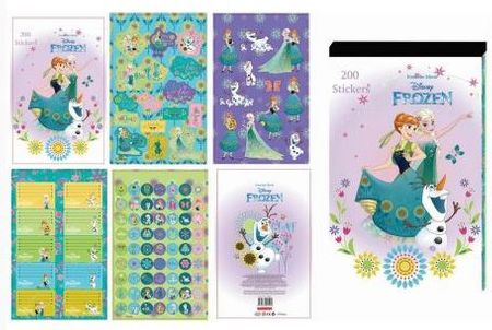 Frozen knjiga etiket Frozen, 200 kosov