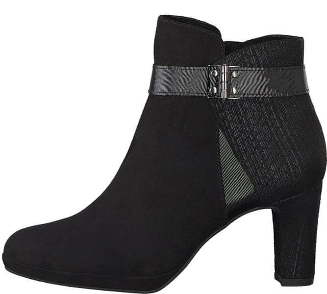 Tamaris dámská kotníčková obuv 41 černá