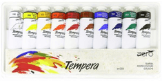 Aero tempera barvice TE-10 ART.206 10/1