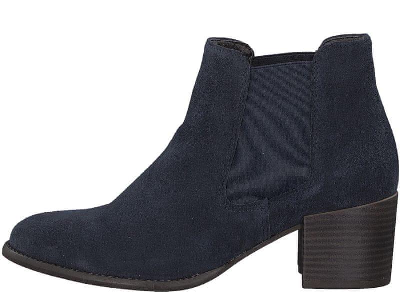 Tamaris dámská kotníčková obuv 36 tmavě modrá