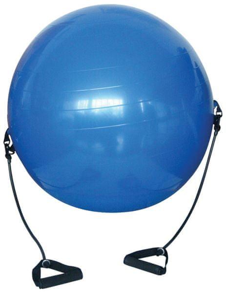 Acra Gymnastický míč s expandery S3219