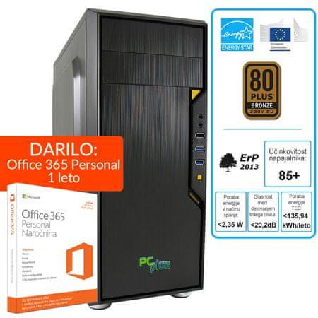 PCplus namizni računalnik Storm i5-7500/8GB/240GBSSD/GT730/Win10 + darilo: 1 leto Office 365 Personal