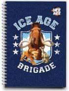 Disney beležka s spiralo Ice Age A6, 80 črtastih listov