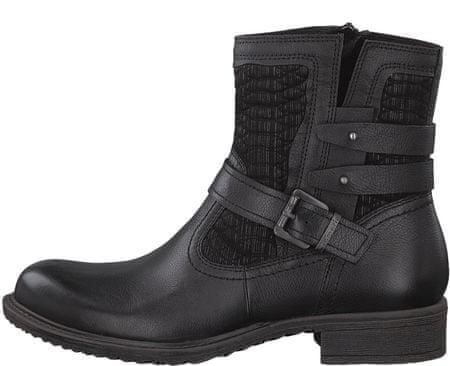 Tamaris buty za kostkę damskie 39 czarny