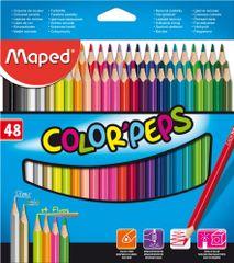 Maped trirobe barvice Color'peps, 48/1, karton