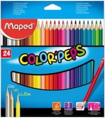 Maped trirobe barvice Color'peps, 36/1, karton