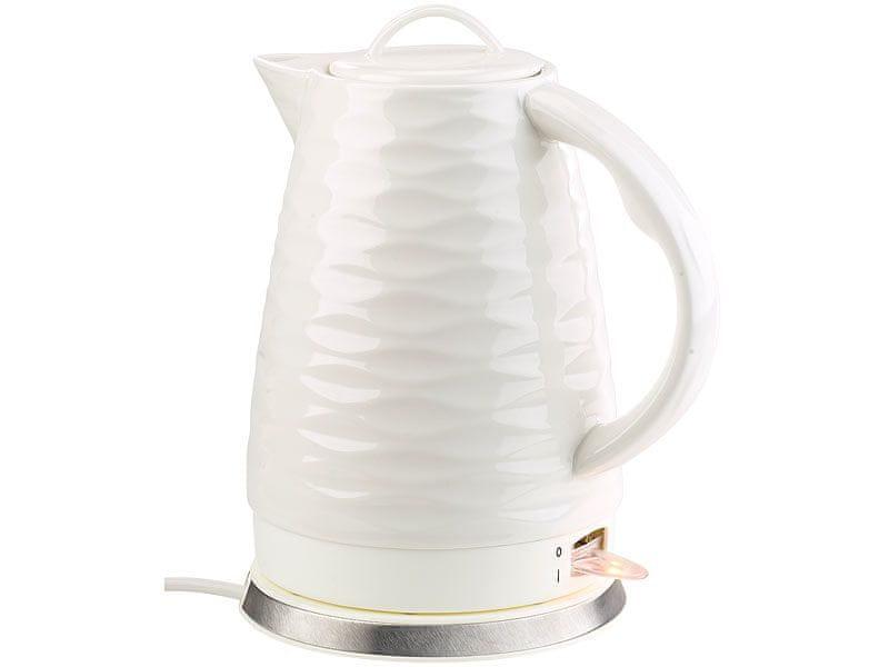 Ceramic Blade porcelánová konvice bílá