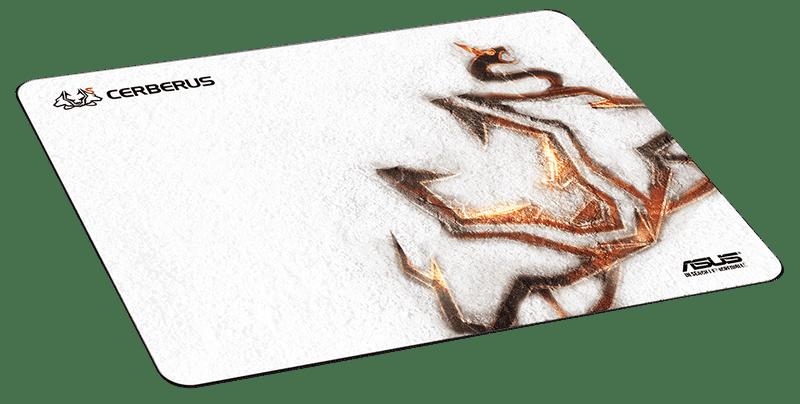 Asus Cerberus herní podložka, bílá (90YH00Y1-BAUA00)