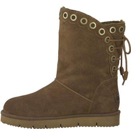 Tamaris buty zimowe damskie Maka 39 brązowy