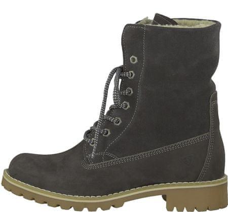 Tamaris dámská kotníčková obuv 38 šedá
