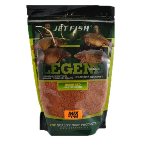 Jet Fish PVA mix 1 kg Klub Red