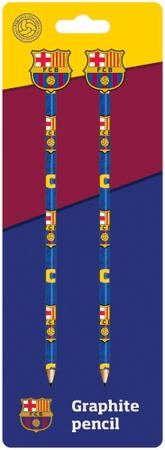 FC Barcelona grafitni svinčnik z redirko, 2/1, blister