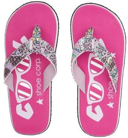 Cool Shoe ženske japonke Eve Slight Ikat, roza, 41-42