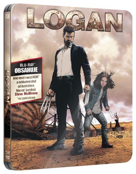 Logan: Wolverine (2 disky: kino verze + NOIR verze) - Blu-ray