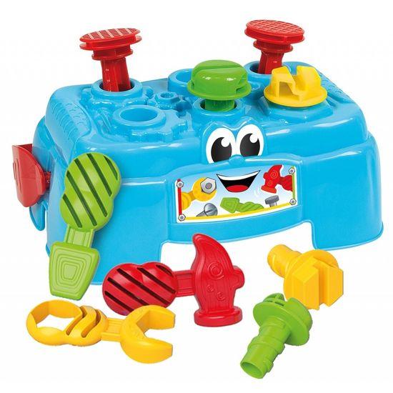Clementoni otroška miza z orodjem Baby