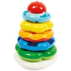 Clementoni piramida z obroči Baby
