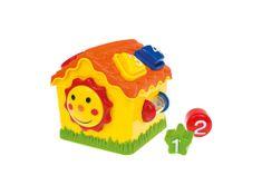 Clementoni hiša Baby, z liki