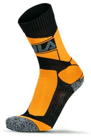 FILA nogavice Skating Socks Pro Coolmax, oranžne, 35 - 38