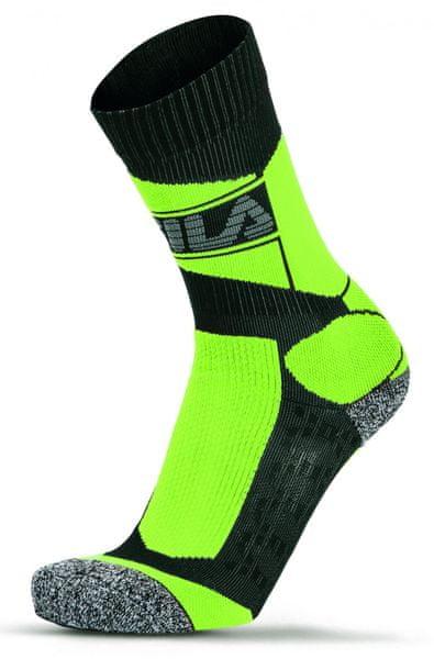 FILA Skating Socks Pro Coolmax Yellow 39 - 42