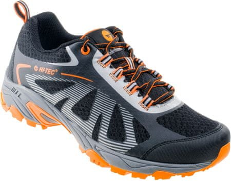 Hi-Tec športni čevlji Salar, sivi/oranžni, 45