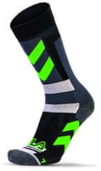 FILA Skating Socks Stripes Green