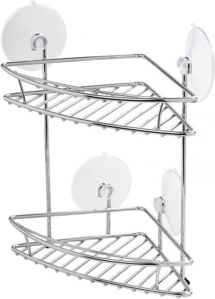 Spirella Koupelnová polička rohová 2 patra New Chrome
