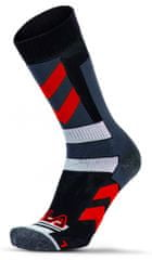 FILA skarpetki Skating Socks Stripes Red