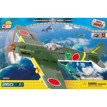 Cobi kocke Kawasaki Ki-61-I Hien 'Tony'