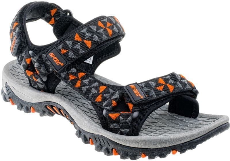 Hi-Tec Cersis Black/Orange 45