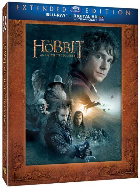 Hobit: Neočekávaná cesta - prodloužená verze (3BD) - Blu-ray